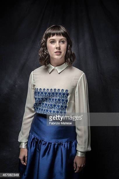 Actress Alexandra Roach is photographed for The Hollywood Reporter during the 38th annual Toronto International Film Festival on September 9 2013 in...