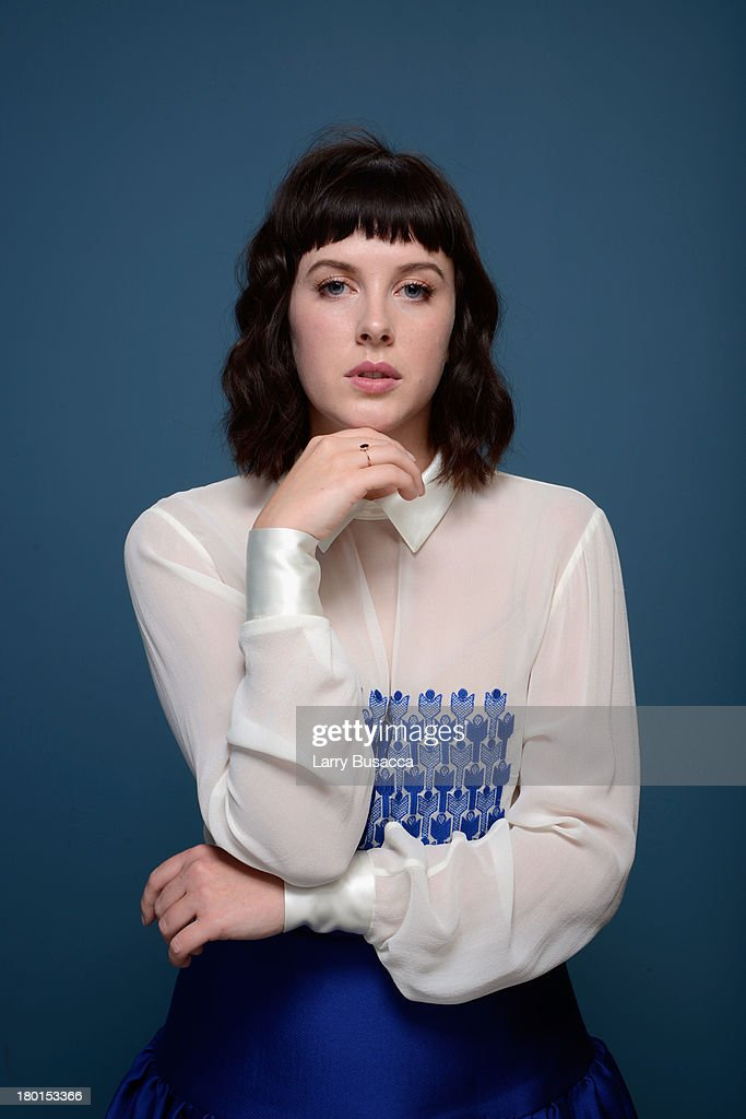 Actress <a gi-track='captionPersonalityLinkClicked' href=/galleries/search?phrase=Alexandra+Roach&family=editorial&specificpeople=8741844 ng-click='$event.stopPropagation()'>Alexandra Roach</a> of 'One Chance' poses at the Guess Portrait Studio during 2013 Toronto International Film Festival on September 9, 2013 in Toronto, Canada.