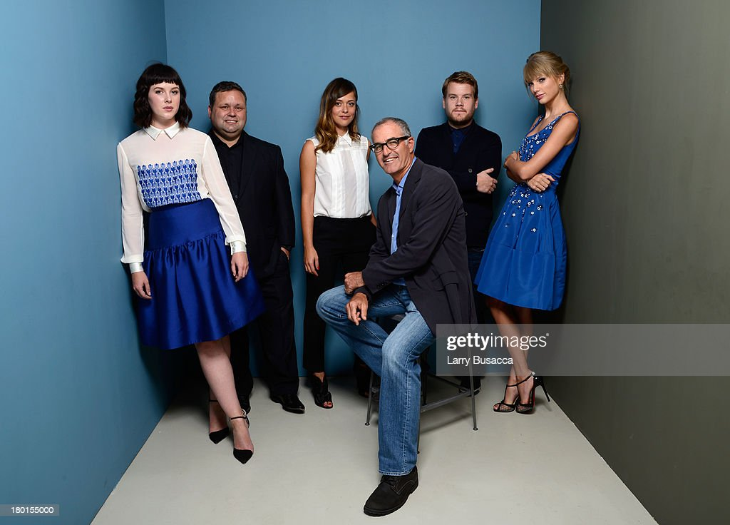 Actress <a gi-track='captionPersonalityLinkClicked' href=/galleries/search?phrase=Alexandra+Roach&family=editorial&specificpeople=8741844 ng-click='$event.stopPropagation()'>Alexandra Roach</a>, singer <a gi-track='captionPersonalityLinkClicked' href=/galleries/search?phrase=Paul+Potts&family=editorial&specificpeople=4352990 ng-click='$event.stopPropagation()'>Paul Potts</a>, actress <a gi-track='captionPersonalityLinkClicked' href=/galleries/search?phrase=Valeria+Bilello&family=editorial&specificpeople=5338724 ng-click='$event.stopPropagation()'>Valeria Bilello</a>, director <a gi-track='captionPersonalityLinkClicked' href=/galleries/search?phrase=David+Frankel&family=editorial&specificpeople=546065 ng-click='$event.stopPropagation()'>David Frankel</a>, actor <a gi-track='captionPersonalityLinkClicked' href=/galleries/search?phrase=James+Corden&family=editorial&specificpeople=673860 ng-click='$event.stopPropagation()'>James Corden</a> and actress <a gi-track='captionPersonalityLinkClicked' href=/galleries/search?phrase=Taylor+Swift&family=editorial&specificpeople=619504 ng-click='$event.stopPropagation()'>Taylor Swift</a> of 'One Chance' pose at the Guess Portrait Studio during 2013 Toronto International Film Festival on September 9, 2013 in Toronto, Canada.
