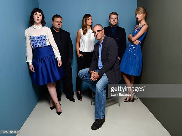 Actress Alexandra Roach singer Paul Potts actress Valeria Bilello director David Frankel actor James Corden and actress Taylor Swift of 'One Chance'...