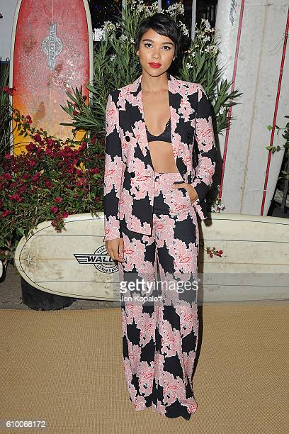 Actress Alexandra Shipp arrives at Teen Vogue Celebrates 14th Annual Young Hollywood Issue at Reel Inn on September 23 2016 in Malibu California