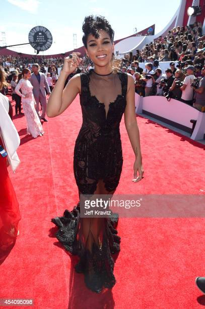 Actress Alexandra Shipp attends the 2014 MTV Video Music Awards at The Forum on August 24 2014 in Inglewood California