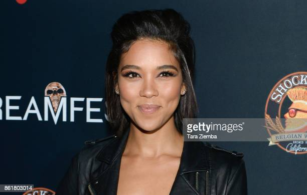 Actress Alexandra Shipp attends the 2017 Screamfest Horror Film Festival at TCL Chinese 6 Theatres on October 15 2017 in Hollywood California