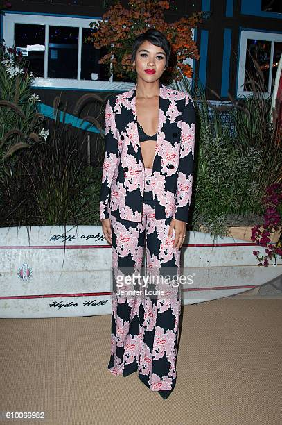 Actress Alexandra Shipp attends the Teen Vogue Celebrates 14th Annual Young Hollywood Issue at the Reel Inn on September 23 2016 in Malibu California