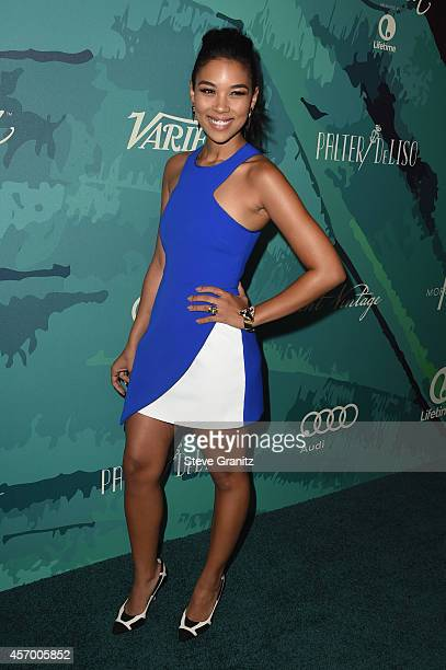 Actress Alexandra Shipp attends Variety's 2014 Power of Women Event in LA presented by Lifetime at the Beverly Wilshire Four Seasons Hotel on October...