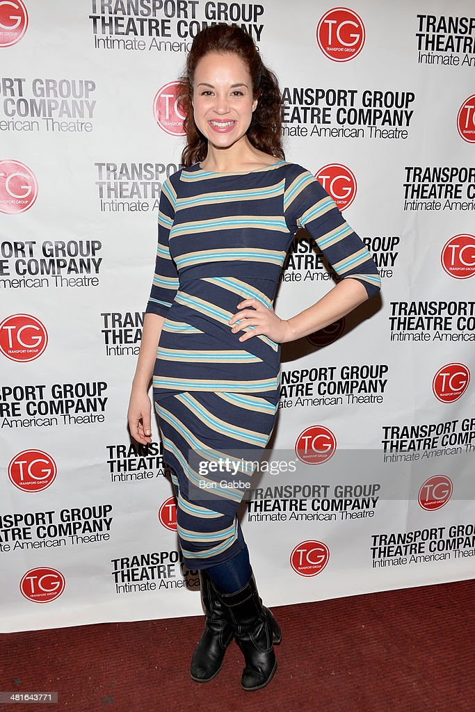 Actress Alexandra Silber attends 'I Remember Mama' Opening Night at The Gym at Judson on March 30, 2014 in New York City.