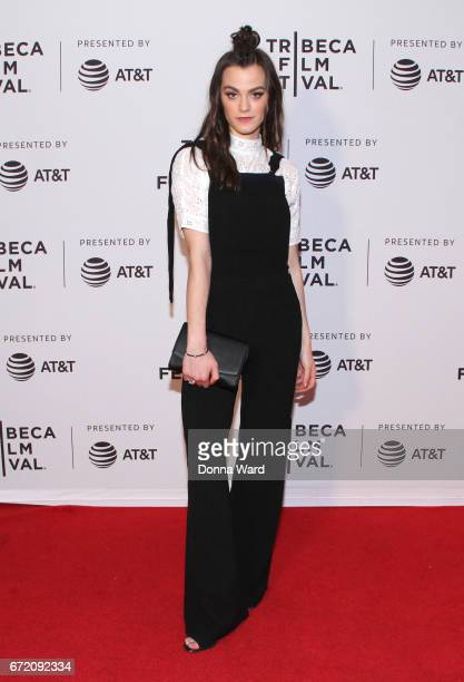 Actress Alexandra Weaver attends Tribeca TV Pilot Season 'Manic' showing during the 2017 Tribeca Film Festival at Cinepolis Chelsea on April 23 2017...