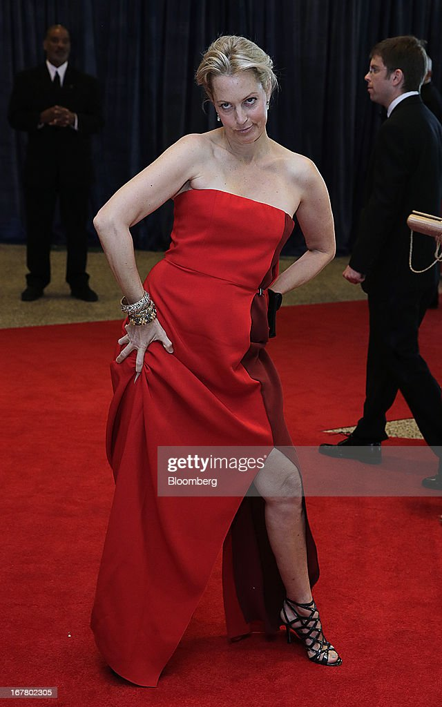 Actress <a gi-track='captionPersonalityLinkClicked' href=/galleries/search?phrase=Alexandra+Wentworth&family=editorial&specificpeople=2995895 ng-click='$event.stopPropagation()'>Alexandra Wentworth</a> arrives for the White House Correspondents' Association (WHCA) dinner in Washington, D.C., U.S., on Saturday, April 27, 2013. The 99th annual dinner raises money for WHCA scholarships and honors the recipients of the organization's journalism awards. Photographer: Scott Eells/Bloomberg via Getty Images