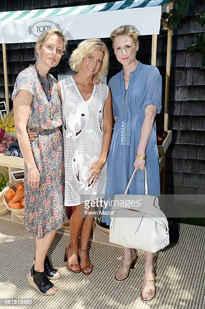 Actress Alexandra Wentworth Founder of Baby Buggy Jessica Seinfeld and actress Mamie Gummer attend Alessandra Facchinetti and Jessica Seinfeld's Baby...