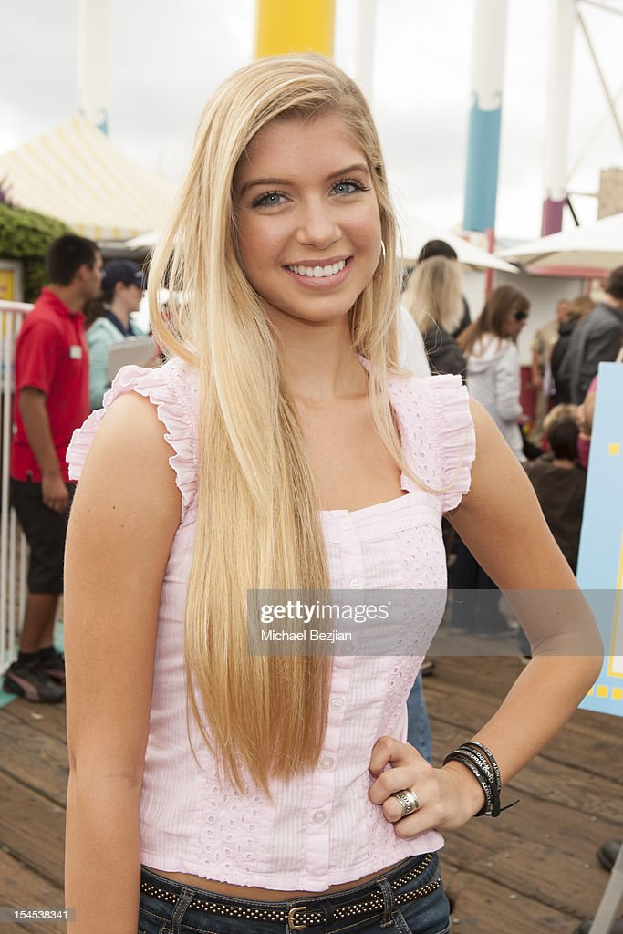 Actress Alexandria DeBerry attends Mattel Party On The Pier Benefiting Mattel Children's Hospital UCLA - Inside at Pacific Park – Santa Monica Pier on October 21, 2012 in Santa Monica, California.