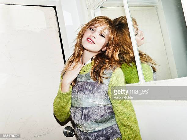 Actress Alexia Fast is photographed for Nylon Magazine on September 29 2012