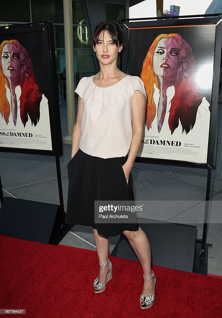 Actress Alexia Landeau attends the special screening of 'Kiss Of The Damned' at the ArcLight Hollywood on April 29, 2013 in Hollywood, California.