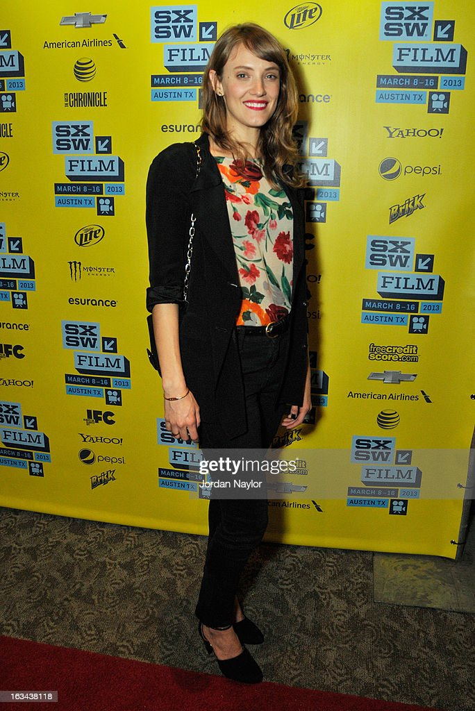 Actress Alexia Rasmussen arrives at the screening of 'Kilimanjaro' during the 2013 SXSW Music, Film + Interactive Festival at Stateside Theater on March 9, 2013 in Austin, Texas.
