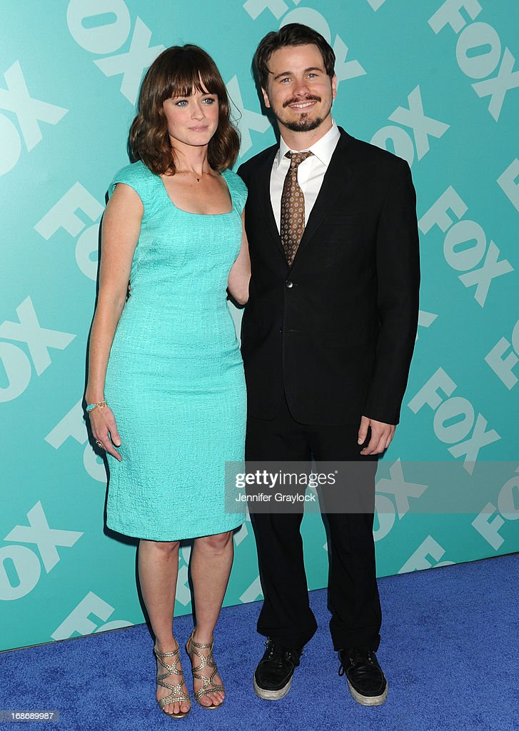 Actress Alexis Bledel and Actor Jason Ritter attends the FOX 2103 Programming Presentation Post-Party at Wollman Rink in Central Park on May 13, 2013 in New York City.