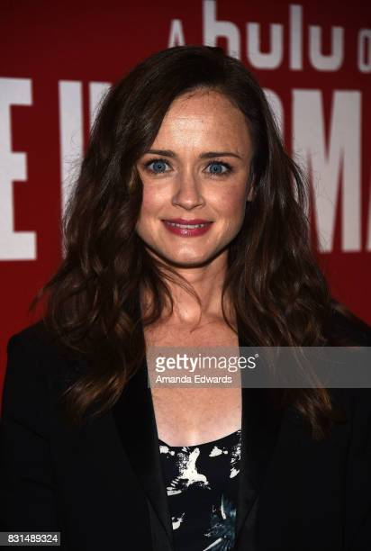 Actress Alexis Bledel arrives at the FYC Event for Hulu's 'The Handmaid's Tale' at the DGA Theater on August 14 2017 in Los Angeles California