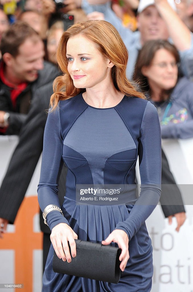 Actress Alexis Bledel arrives at the 'The Conspirator' Premiere held at Roy Thomson Hall during the 35th Toronto International Film Festival on September 11, 2010 in Toronto, Canada.