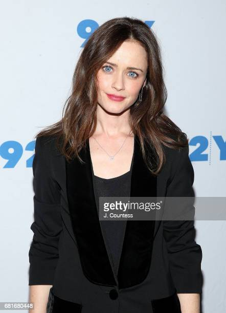 Actress Alexis Bledel attends 92Y Presents Hulu's 'The Handmaid's Tale' at 92nd Street Y on May 10 2017 in New York City
