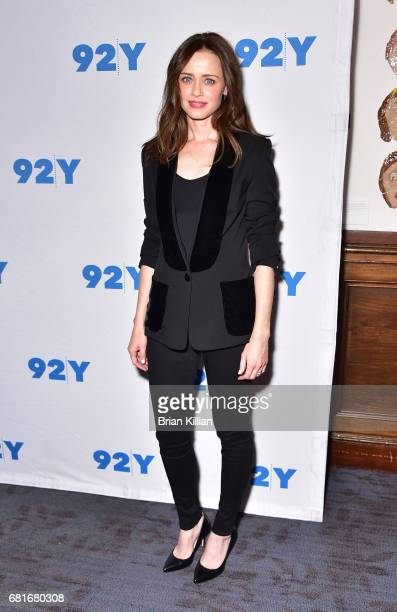 Actress Alexis Bledel attends Hulu's 'The Handmaid's Tale' at 92nd Street Y on May 10 2017 in New York City
