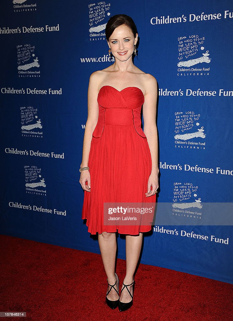 Actress Alexis Bledel attends the Children's Defense Fund's 22nd annual 'Beat the Odds' Awards at the Beverly Hills Hotel on December 6, 2012 in Beverly Hills, California.