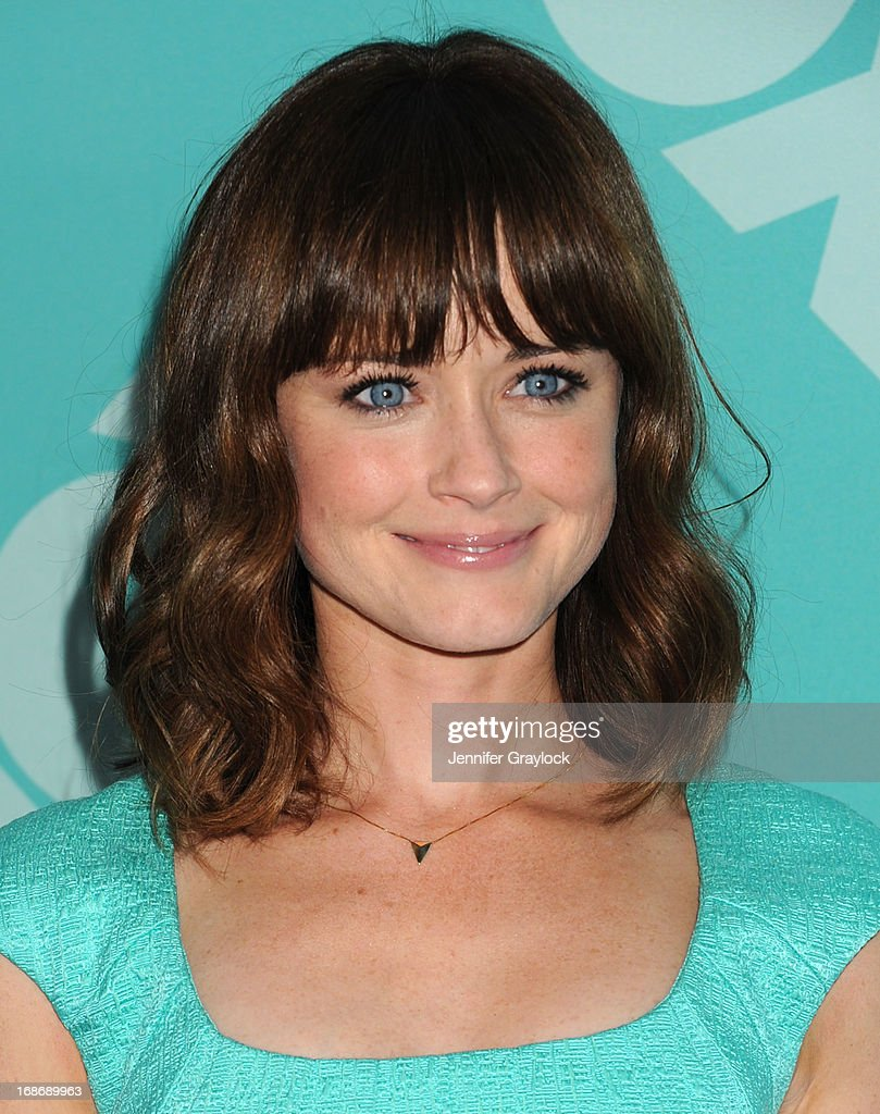 Actress Alexis Bledel attends the FOX 2103 Programming Presentation Post-Party at Wollman Rink in Central Park on May 13, 2013 in New York City.