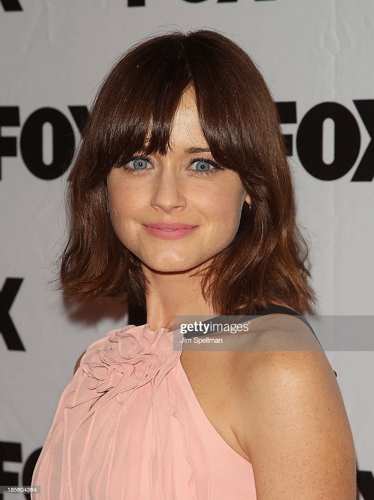 Actress <a gi-track='captionPersonalityLinkClicked' href=/galleries/search?phrase=Alexis+Bledel&family=editorial&specificpeople=206123 ng-click='$event.stopPropagation()'>Alexis Bledel</a> attends the 'Us And Them' series screening at SVA Theater on October 22, 2013 in New York City.
