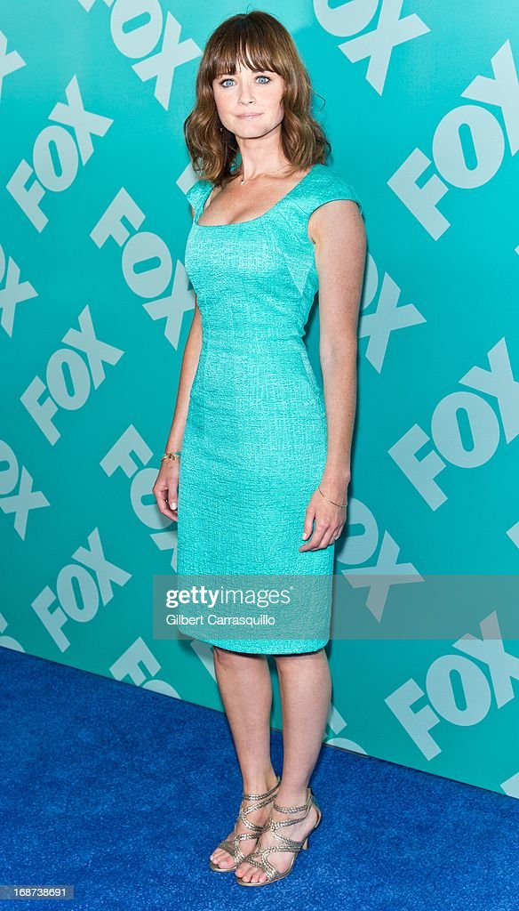 Actress Alexis Bledel of 'Us & Them' attends the FOX 2103 Programming Presentation Post-Party at Wollman Rink - Central Park on May 13, 2013 in New York City.