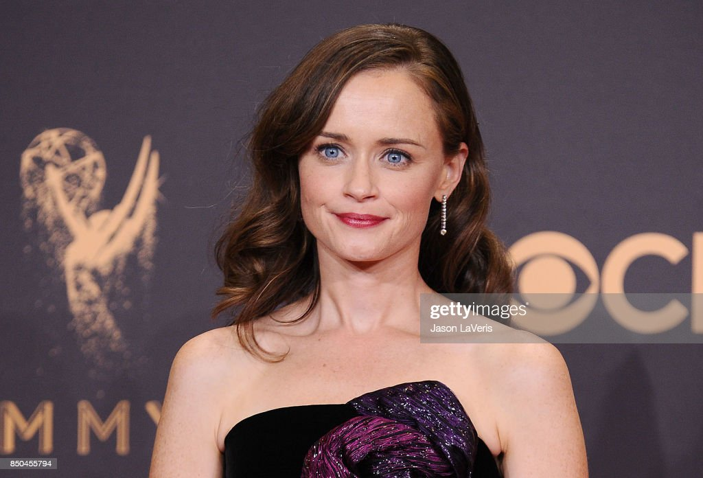 Actress Alexis Bledel poses in the press room at the 69th annual Primetime Emmy Awards at Microsoft Theater on September 17, 2017 in Los Angeles, California.