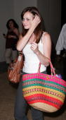Actress Alexis Bledel visits MTV's 'TRL' at MTV studios on August 4 2008 in New York City