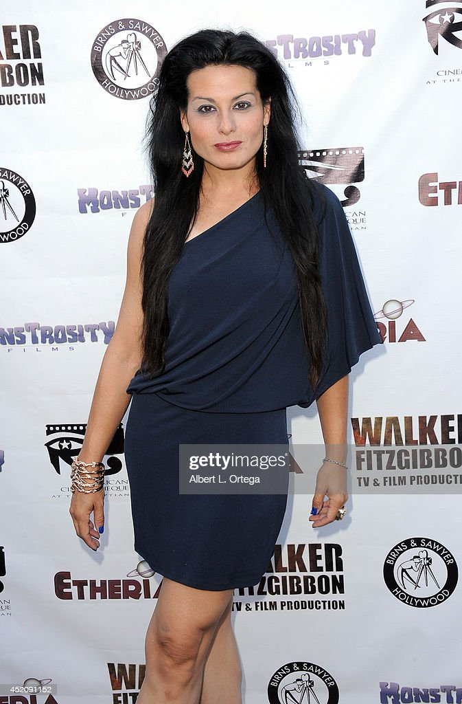 Actress Alexis Iacono arrives for the 2014 Etheria Film Night held at American Cinematheque's Egyptian Theatre on July 12, 2014 in Hollywood, California.