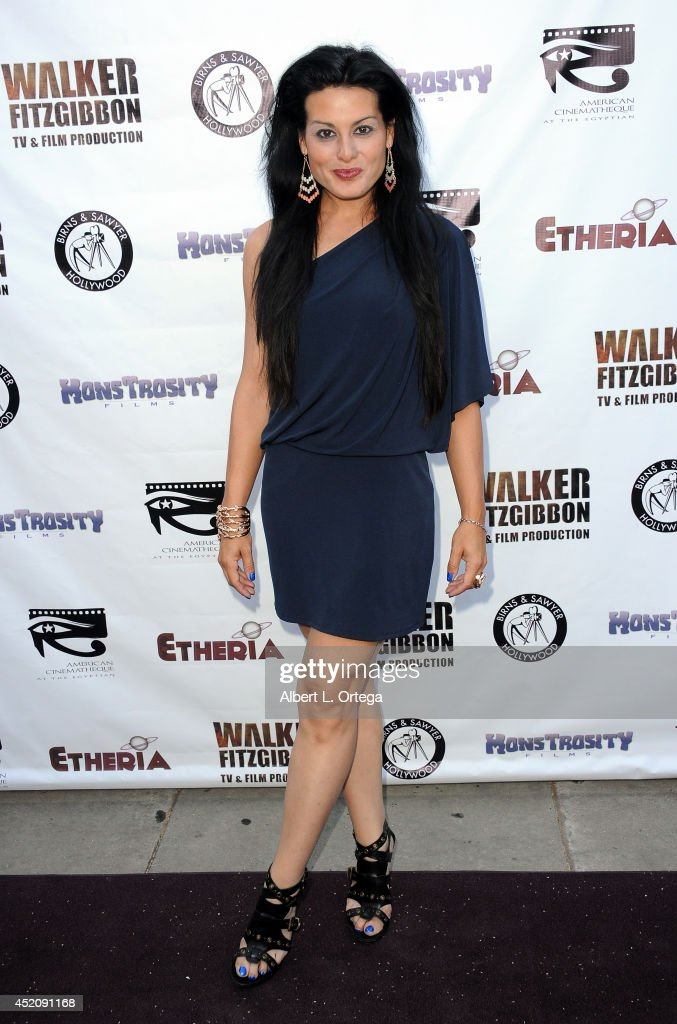 Actress <a gi-track='captionPersonalityLinkClicked' href=/galleries/search?phrase=Alexis+Iacono&family=editorial&specificpeople=663995 ng-click='$event.stopPropagation()'>Alexis Iacono</a> arrives for the 2014 Etheria Film Night held at American Cinematheque's Egyptian Theatre on July 12, 2014 in Hollywood, California.