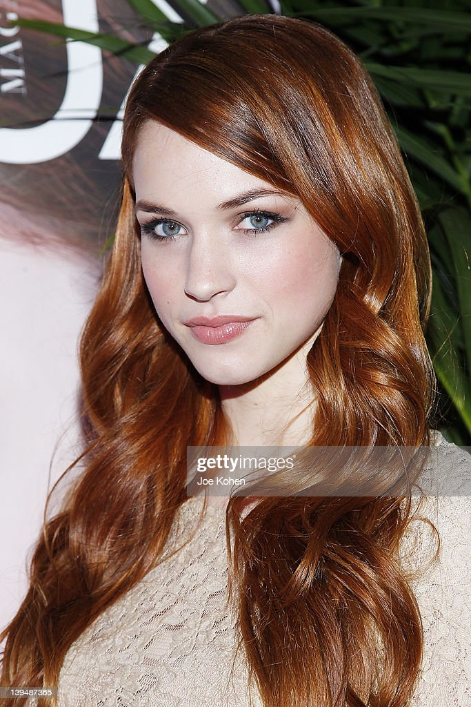 Actress Alexis Knapp attends the Night Of 'BB Forever: Brigitte Bardot, The Legend' at Sofitel Hotel on February 21, 2012 in Los Angeles, California.