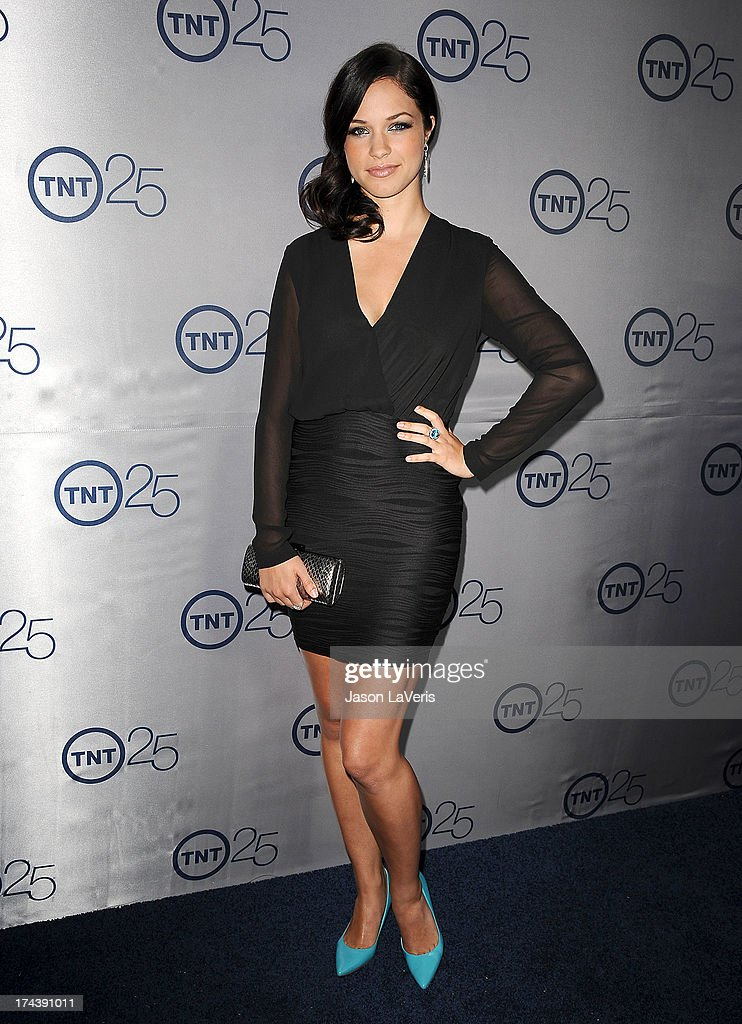 Actress Alexis Knapp attends TNT's 25th anniversary party at The Beverly Hilton Hotel on July 24, 2013 in Beverly Hills, California.