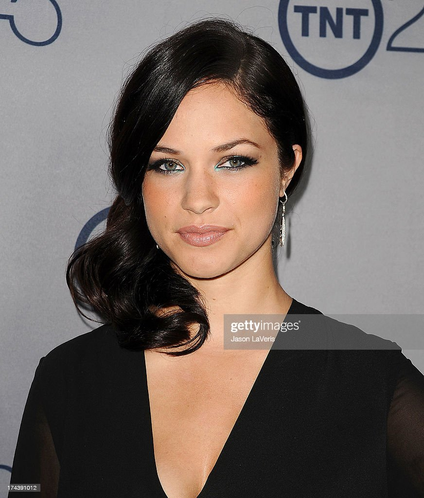 Actress <a gi-track='captionPersonalityLinkClicked' href=/galleries/search?phrase=Alexis+Knapp&family=editorial&specificpeople=6845692 ng-click='$event.stopPropagation()'>Alexis Knapp</a> attends TNT's 25th anniversary party at The Beverly Hilton Hotel on July 24, 2013 in Beverly Hills, California.