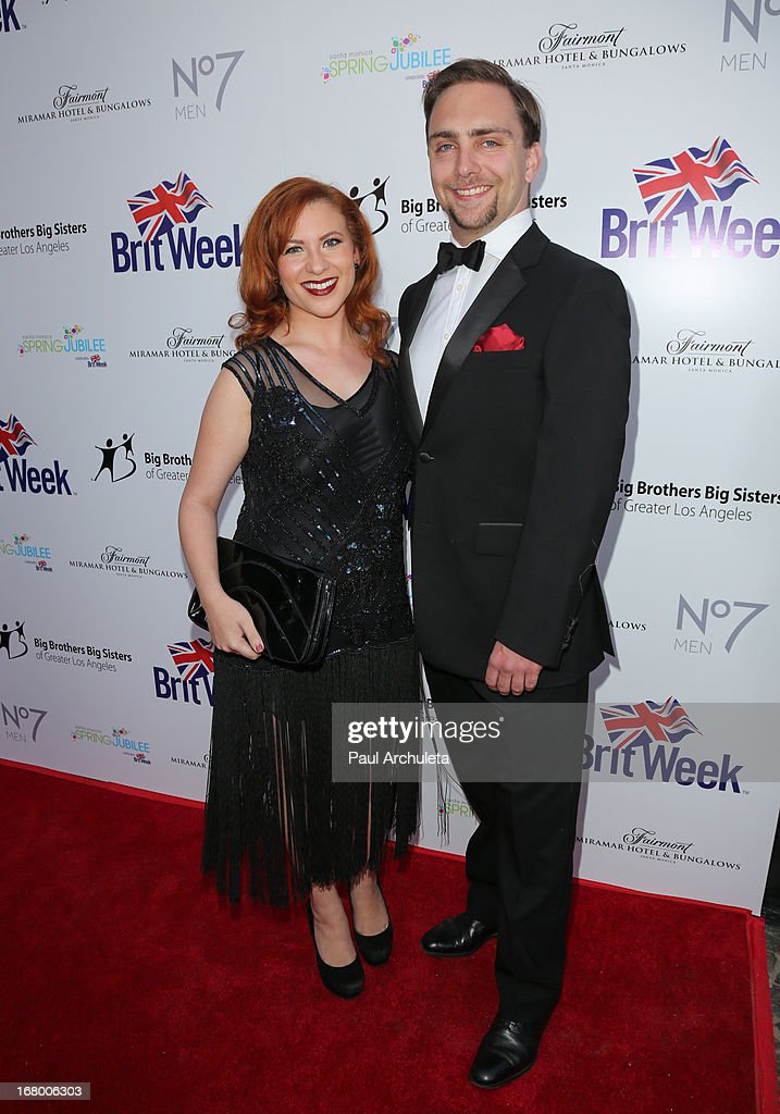 Actress Alexis Nichols (L) attends the Britweek celebration of 'Downton Abbey' at Fairmont Miramar Hotel on May 3, 2013 in Santa Monica, California.