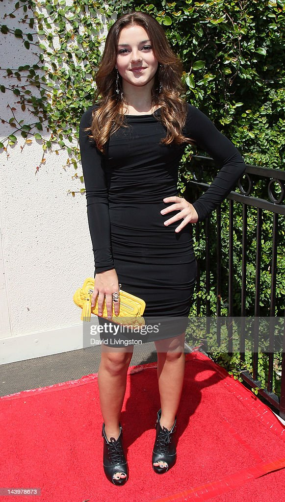 Actress Alexis Wilkins attends the 33rd Young Artist Awards at the Sportmen's Lodge on May 6, 2012 in Studio City, California.