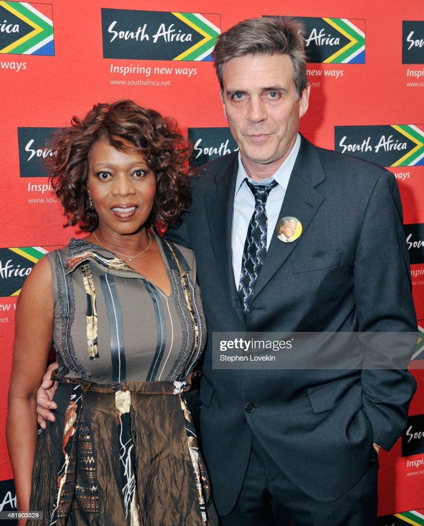 Actress <a gi-track='captionPersonalityLinkClicked' href=/galleries/search?phrase=Alfre+Woodard&family=editorial&specificpeople=220969 ng-click='$event.stopPropagation()'>Alfre Woodard</a> and Roderick Spencer attend the 2014 Ubuntu Awards at Gotham Hall on April 1, 2014 in New York City.