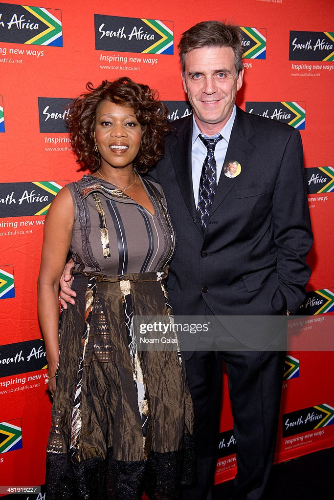 Actress <a gi-track='captionPersonalityLinkClicked' href=/galleries/search?phrase=Alfre+Woodard&family=editorial&specificpeople=220969 ng-click='$event.stopPropagation()'>Alfre Woodard</a> and writer Roderick Spencer attend the 2014 Ubuntu Awards at Gotham Hall on April 1, 2014 in New York City.