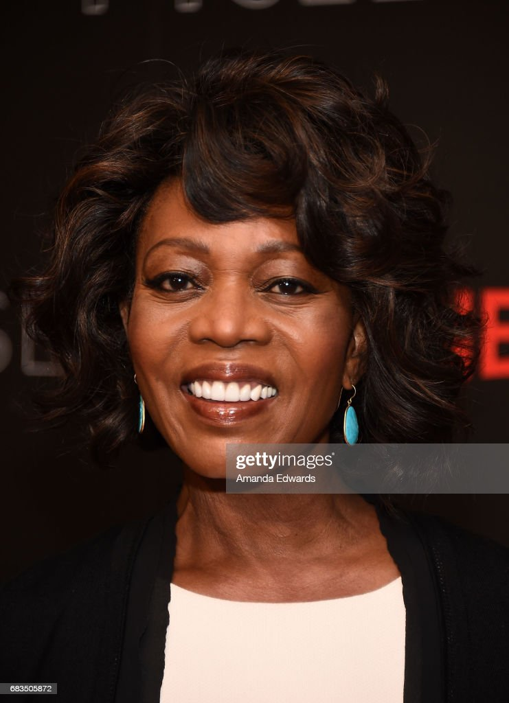 Actress Alfre Woodard arrives at Netflix's 'Marvel Cage' FYC Event at the Netflix FYSee Space on May 15, 2017 in Beverly Hills, California.