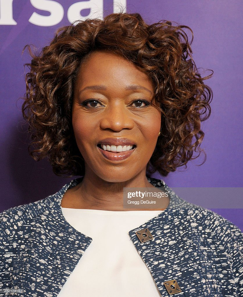 Actress <a gi-track='captionPersonalityLinkClicked' href=/galleries/search?phrase=Alfre+Woodard&family=editorial&specificpeople=220969 ng-click='$event.stopPropagation()'>Alfre Woodard</a> arrives at the 2014 Television Critics Association Summer Press Tour - NBCUniversal - Day 1 at The Beverly Hilton Hotel on July 13, 2014 in Beverly Hills, California.