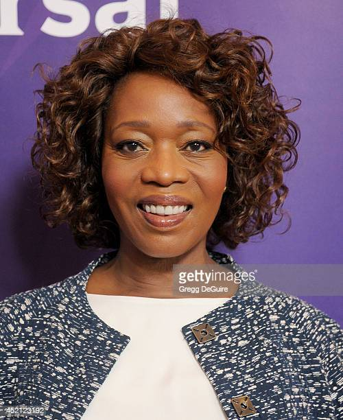 Actress Alfre Woodard arrives at the 2014 Television Critics Association Summer Press Tour NBCUniversal Day 1 at The Beverly Hilton Hotel on July 13...