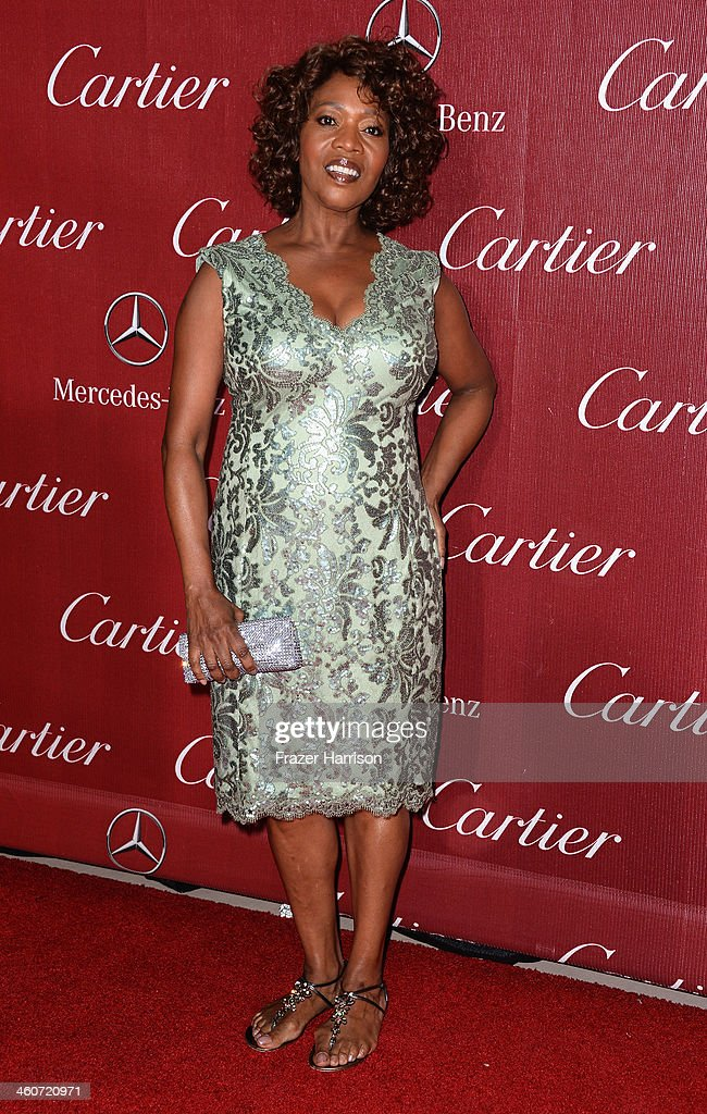 Actress Alfre Woodard arrives at the 25th Annual Palm Springs International Film Festival Awards Gala at Palm Springs Convention Center on January 4, 2014 in Palm Springs, California.