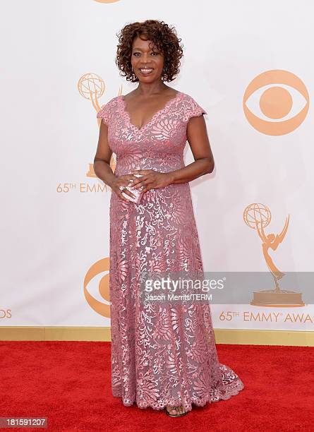 Actress Alfre Woodard arrives at the 65th Annual Primetime Emmy Awards held at Nokia Theatre LA Live on September 22 2013 in Los Angeles California