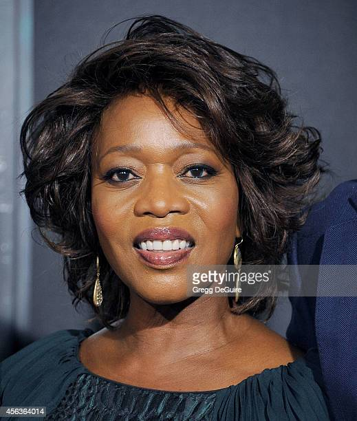 Actress Alfre Woodard arrives at the Los Angeles Special Screening Of New Line Cinema's 'Annabelle' at TCL Chinese Theatre on September 29 2014 in...
