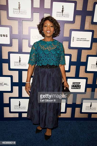 Actress Alfre Woodard attend the 8th Annual ESSENCE Black Women In Hollywood Luncheon at the Beverly Wilshire Four Seasons Hotel on February 19 2015...