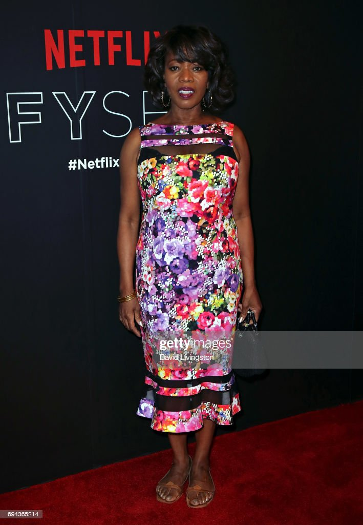 Actress Alfre Woodard attends Netflix's 'A Series of Unfortunate Events' FYC event at Netflix FYSee Space on June 9, 2017 in Beverly Hills, California.