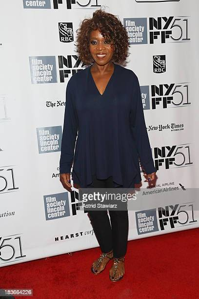 Actress Alfre Woodard attends the '12 Years A Slave' premiere during the 51st New York Film Festival at Alice Tully Hall at Lincoln Center on October...