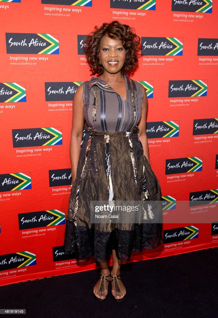 Actress Alfre Woodard attends the 2014 Ubuntu Awards at Gotham Hall on April 1, 2014 in New York City.