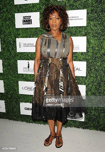Actress Alfre Woodard attends the 7th annual ESSENCE Black Women In Hollywood luncheon at Beverly Hills Hotel on February 27 2014 in Beverly Hills...