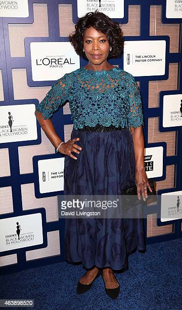 Actress Alfre Woodard attends the 8th Annual ESSENCE Black Women In Hollywood Luncheon at the Beverly Wilshire Four Seasons Hotel on February 19 2015...
