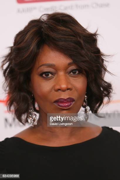 Actress Alfre Woodard attends the AARP's 16th Annual Movies for Grownups Awards at the Beverly Wilshire Four Seasons Hotel on February 6 2017 in...